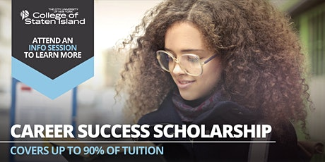 Career Success Scholarship Info Session tickets