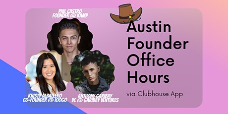 Austin Founder Office Hours (Virtual) tickets