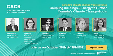 Coupling Buildings & Energy to Further Canada's Climate Change Goals tickets