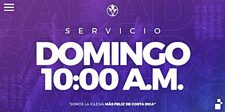 Servicio Domingo 10:00a.m. | Iglesia DC entradas