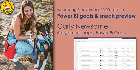 Power BI Goals with Carly Newsome tickets