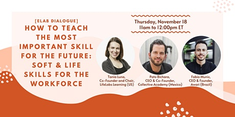 How to Teach The Most Important Skill for the Future: Soft & Life Skills tickets