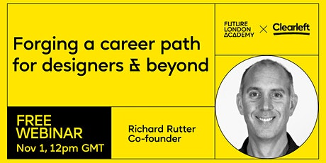 Webinar: Forging a career path  for designers & beyond with Clearleft tickets