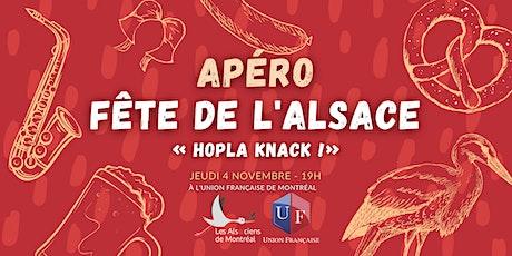 Apéro Alsacien « Hopla knack !» billets