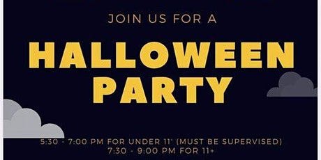 Seaton Carew Youthy - Halloween Party (11 - 16's) tickets