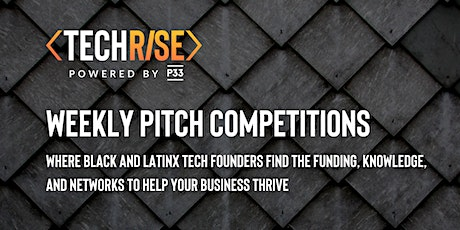 TechRise Pitch Competition - Women in Tech (10/29) tickets