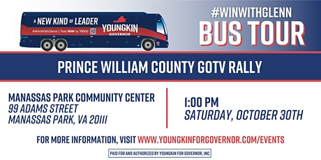 Prince William County GOTV Rally tickets