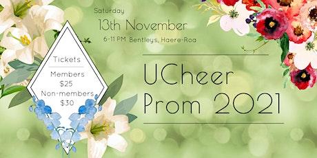 UCheer Prom 2021 tickets