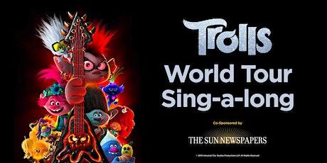 Trolls World Tour Holiday Event tickets