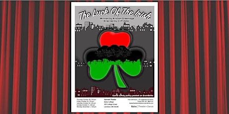 The Luck of the Irish by Kirsten Greenidge tickets