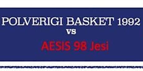 Polverigi Basket 1992 - Aesis 98 Jesi biglietti