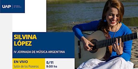 IV JORNADA DE MUSICA ARGENTINA entradas