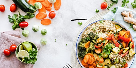 HOW TO BE HEALTHIER ON A PLANT-BASED LIFESTYLE   Online Workshop tickets