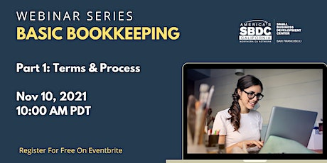 Basic Bookkeeping 1: Bookkeeping Terms & Processes tickets