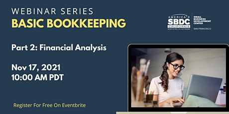 Basic Bookkeeping 2: Financial Analysis tickets