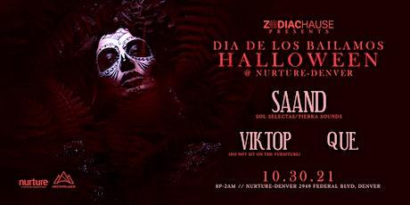 Zodiac Hause // Dia de los Bailamos // Halloween tickets