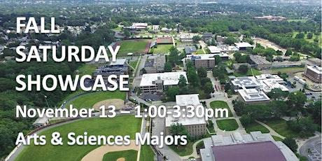 Rhode Island College Saturday Showcase: Arts & Sciences tickets