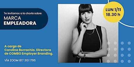 Agencias Argentinas | Marca Empleadora -  CAROLINA BORRACCHIA tickets