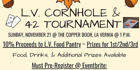 LV Cornhole & 42 Tournament tickets