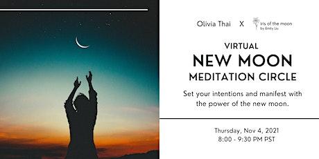 New Moon Meditation Circle w/ Olivia Thai & Iris of the Moon tickets