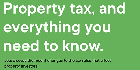 Property tax, and everything you need to know tickets