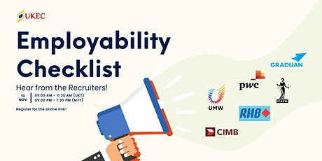 Employability Checklist: Hear from the Recruiters tickets