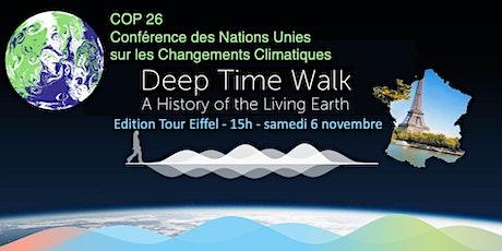 Deep Time Walk avec la COP26 (Marche du Temps Profond) - Tour Eiffel 15h billets