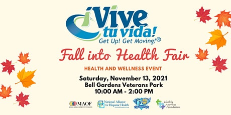 2021 Vive Tu Vida! Get Up! Get Moving!  Health Fair tickets