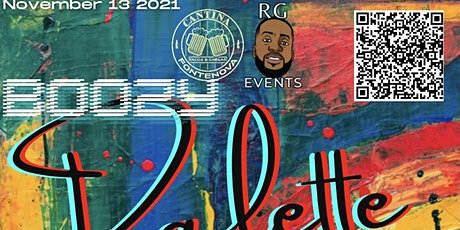 BOOZY PALETTE BY RG EVENTS tickets