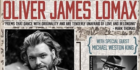 Oliver James Lomax Poetry Reading tickets