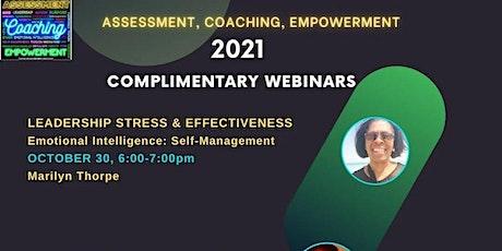 Emotional Intelligence: Self -Management entradas