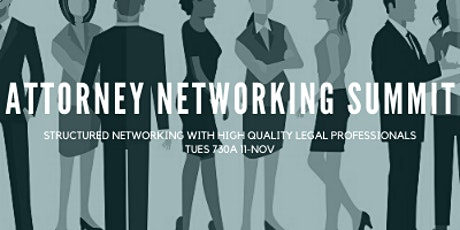 Legal Professionals Networking Summit tickets