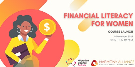 Course Launch: Financial Literacy for Women tickets