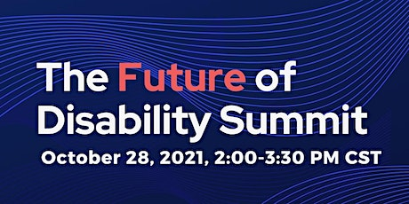 Future of Disability Summit tickets