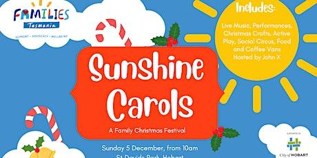 Sunshine Carols - A Family Christmas Festival tickets
