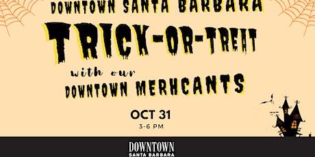 Downtown Santa Barbara Trick or Treat tickets