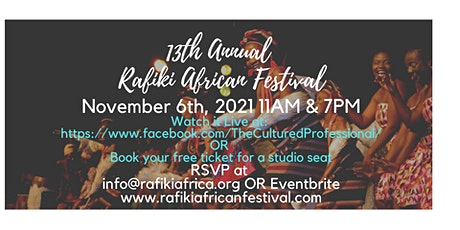 13th Annual African Festival tickets