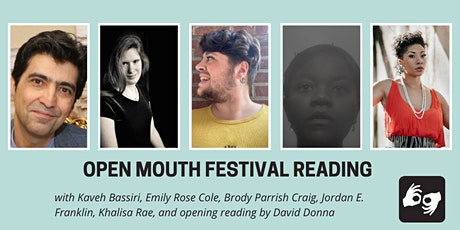 Open Mouth Poetry Festival--Reading on 10/30 tickets