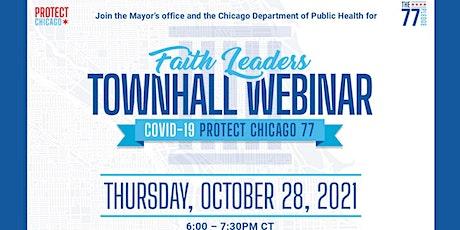 Chicago Faith Leader's Townhall Webinar tickets