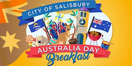 2022 City of Salisbury Australia Day Breakfast tickets