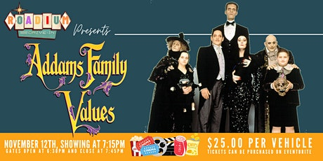 ADDAMS FAMILY VALUES  - Presented by The Roadium Drive-In tickets