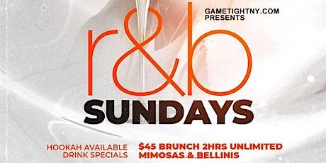 Taj Lounge Sunday R&B Brunch Reservation tickets