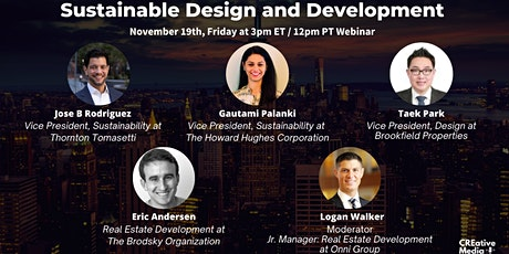 Sustainable Design and Development Panel tickets