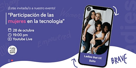 Participación de las mujeres en la tecnología entradas