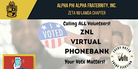 ZNL Chapter Phone Bank Call Out (A Voteless People is a Hopeless People) tickets