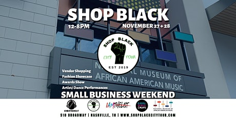 Shop Black Small Business Weekend tickets