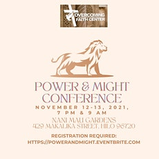 Power & Might Conference tickets