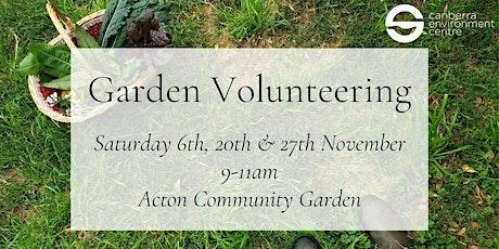 Garden Volunteering tickets