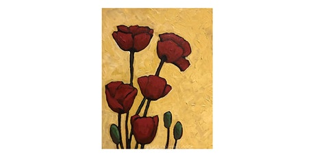 Paint Poppies in Acrylic with Lisa Leskien tickets