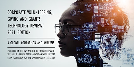 Release Event: Corporate Volunteering, Giving and Grants Technology Review tickets
